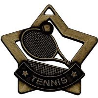 Mini Star Tennis Medal</br>AM727B
